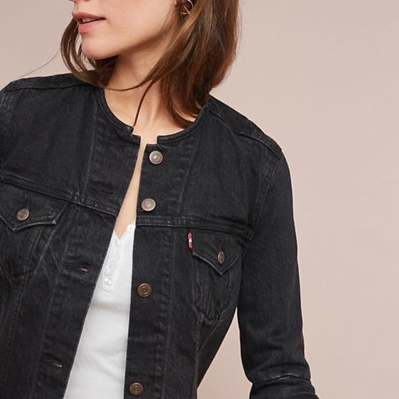 92ec201a7c17a Levi's Jackets & Coats | Nwt Levis Altered Trucker Jacket Washed ...